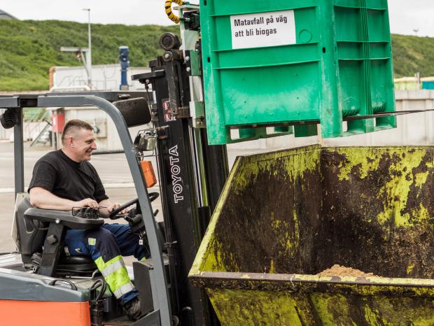 Biond tar tillvara på det organiska avfallet i samverkan med kommuner och andra lokala aktörer.