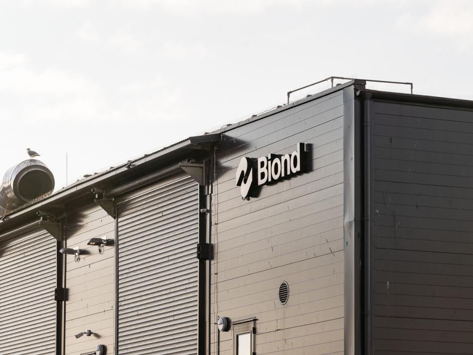 Bionds biocirkulärra anläggning i Helsingborg.