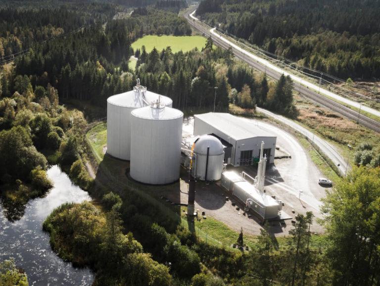 Biocirkulär anläggning i Sävsjö