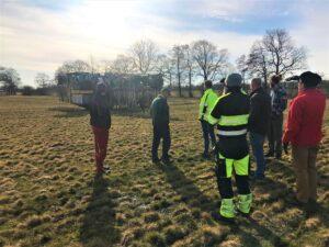 Biond levererar ca 6 000 m3biogödsel till Krokstorps gård årligen .